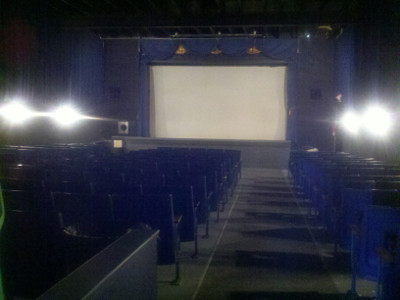 Inside of the Andover Showplace Theater