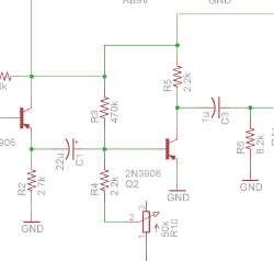 Tone Bender with Silicon Transistors